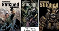 Stitched - Volumes 1, 2 & 3 - Full Set of 3 TPBs/Graphic Novels